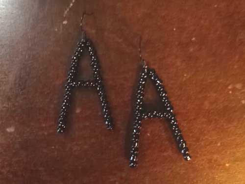 Letter-A-Black