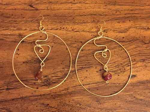 Oshun-Earrings