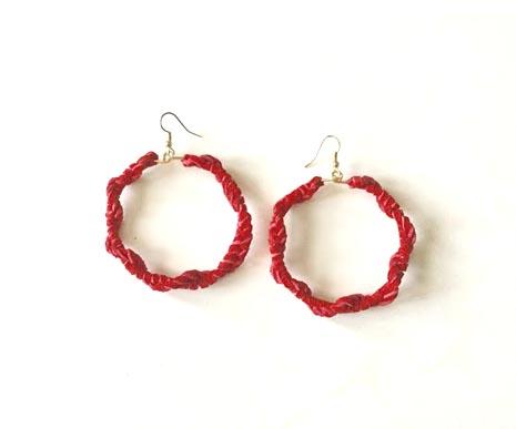 Red-Suede-Earrings
