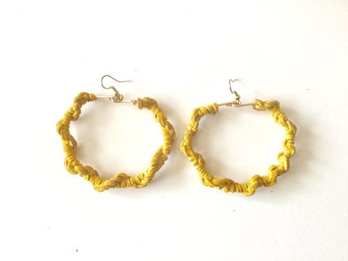 Yellow-Suede-Hoops